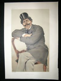 Vanity Fair Print: 1879 Paul de Granier de Cassagnac